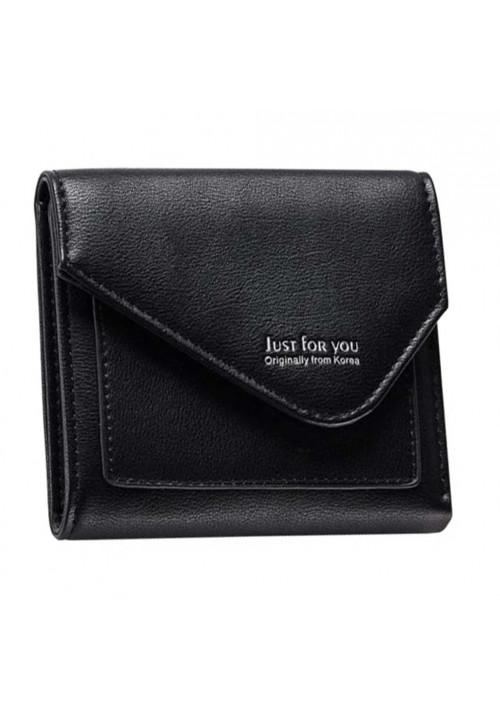 Черный кошелечек Amelie Jus Black