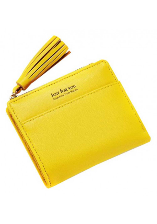 Желтый женский кошелек Amelie Mini Yellow