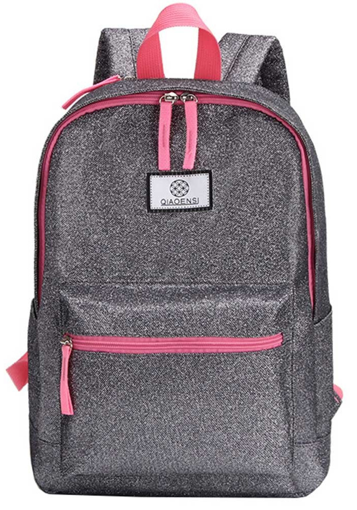 Серый модный рюкзак для девушки Mia Grey