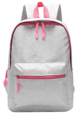 Фото Серебристый рюкзак для девушки Mia Silver