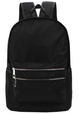 Фото Черный тканевый рюкзак DFSY ER