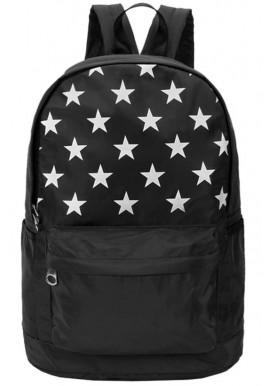 Черный рюкзак со звездами DFSY ER BLACK STAR
