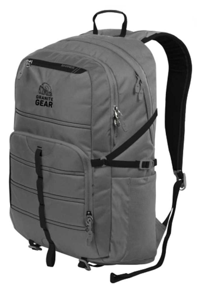 Серый рюкзак Granite Gear Boundary 30 Flint Black