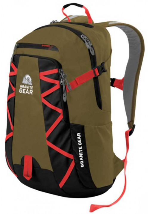 Компактный рюкзак Granite Gear Highland Peat Black Ember Orange
