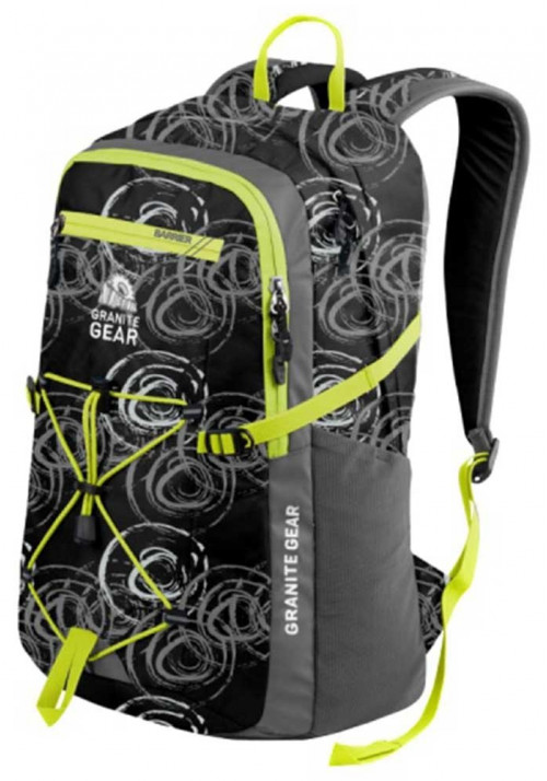 Красивый рюкзак Granite Gear Portage 29 Circolo Flint Neolime