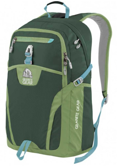 Рюкзак зеленого цвета Granite Gear Voyageurs 29 Boreal Green Moss Stratos