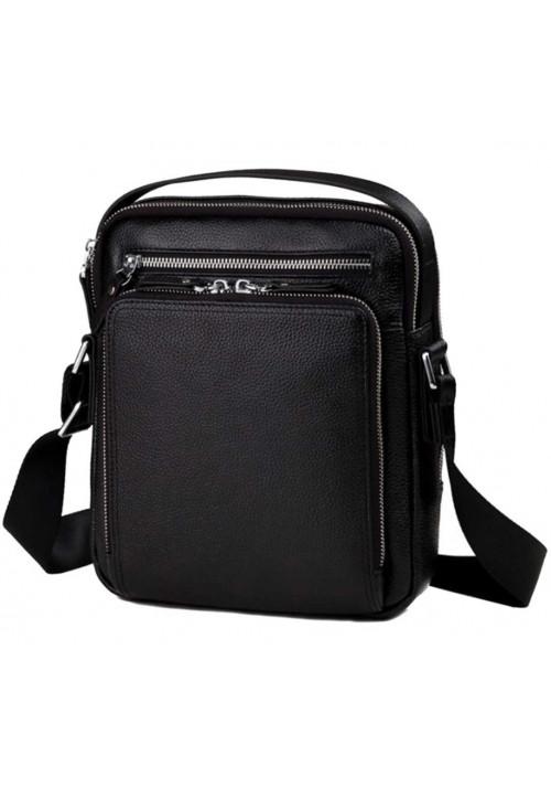 Стильная кожаная сумка мужская на плечо Tiding Bag