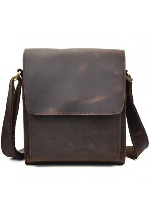 Кожаный мужской мессенджер Tiding Bag