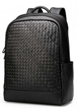 Фото Плетеный кожаный женский рюкзак Tiding Bag