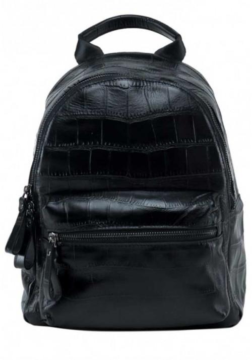 Кожаный женский рюкзак из говяжьей кожи Tiding Bag