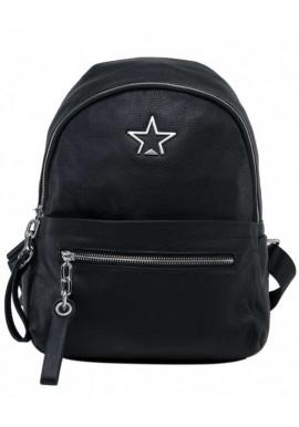 Фото Кожаный женский рюкзак со звездой Tiding Bag