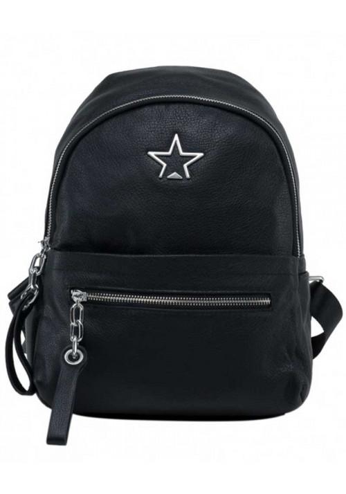 Кожаный женский рюкзак со звездой Tiding Bag