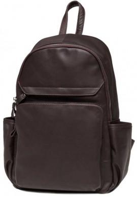Фото Женский рюкзак из коричневой кожи Tiding Bag