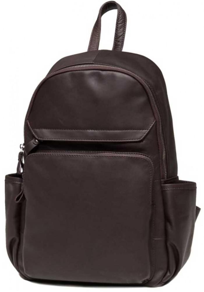 Женский рюкзак из коричневой кожи Tiding Bag