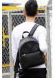 Кожаный рюкзак с красной отделкой Tiding Bag, фото №10 - интернет магазин stunner.com.ua