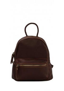 Фото Кожаный рюкзак с широкими ручками Tiding Bag