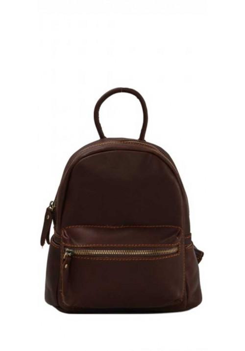Кожаный рюкзак с широкими ручками Tiding Bag