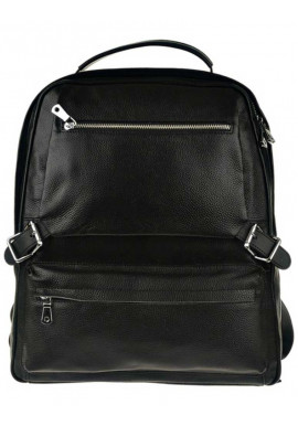 Фото Кожаный рюкзак комбинированный Tiding Bag