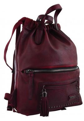 Фото Бордовый молодежный рюкзак YES Weekend YW-11