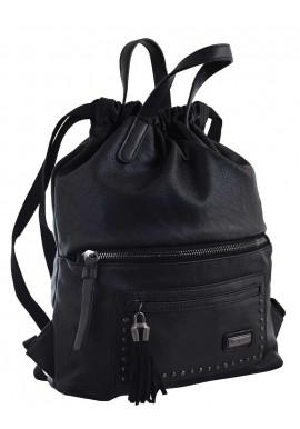 Фото Черный молодежный рюкзак YES Weekend YW-11