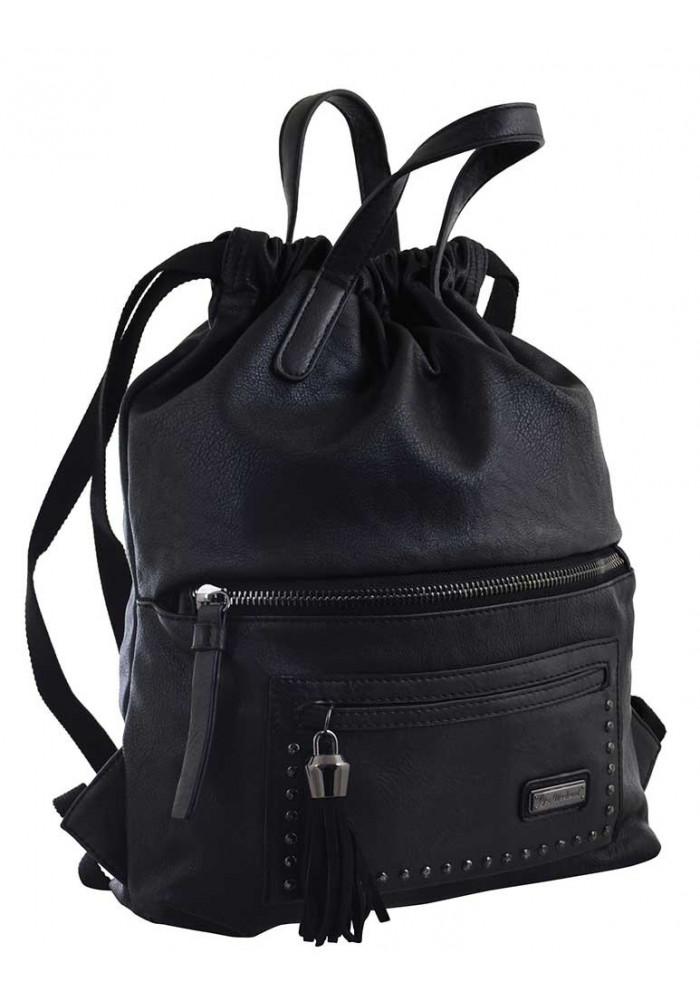 Черный молодежный рюкзак YES Weekend YW-11