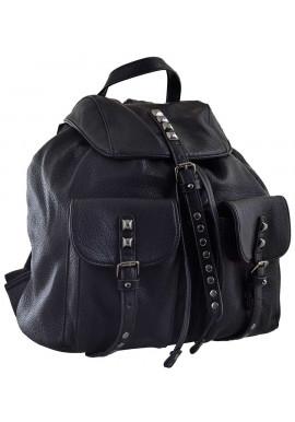 Черный молодежный рюкзак YES Weekend YW-13