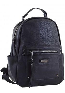 Черный молодежный рюкзак YES Weekend YW-14