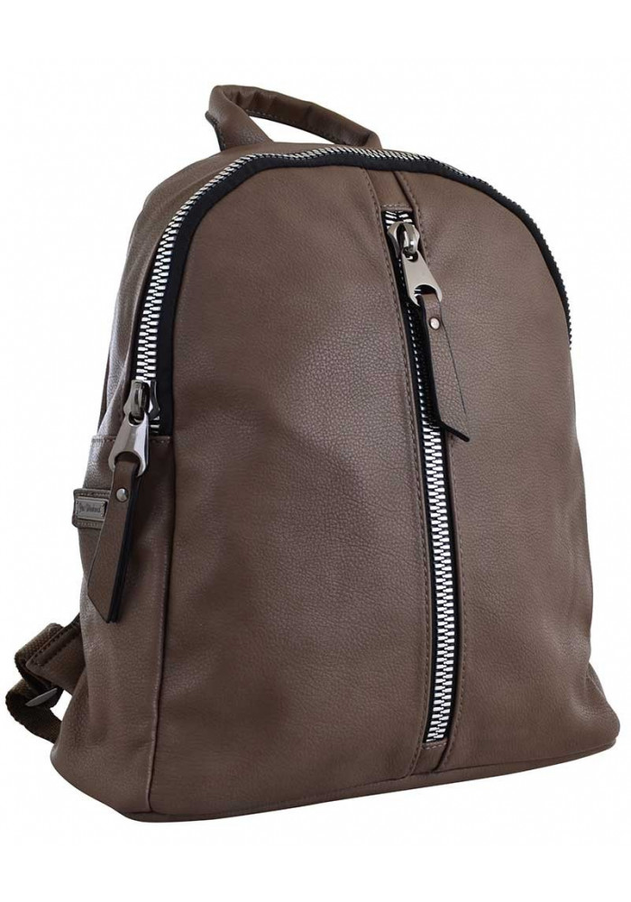 Светло-коричневый молодежный рюкзак YES Weekend YW-16
