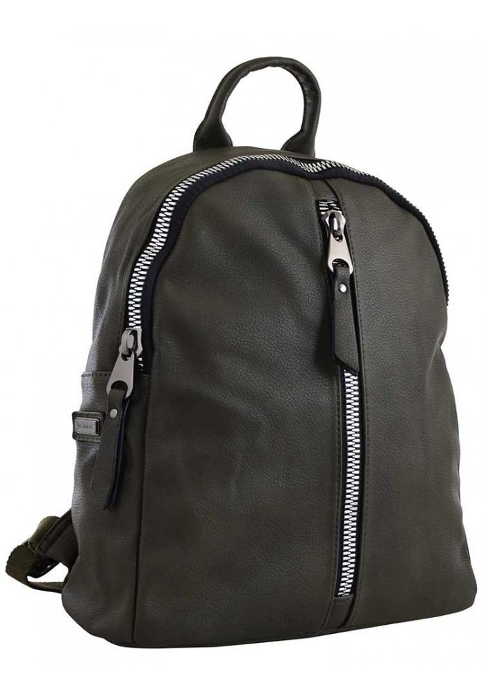 Молодежный рюкзак цвета хаки YES Weekend YW-16