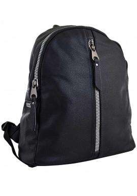 Черный молодежный рюкзак YES Weekend YW-16