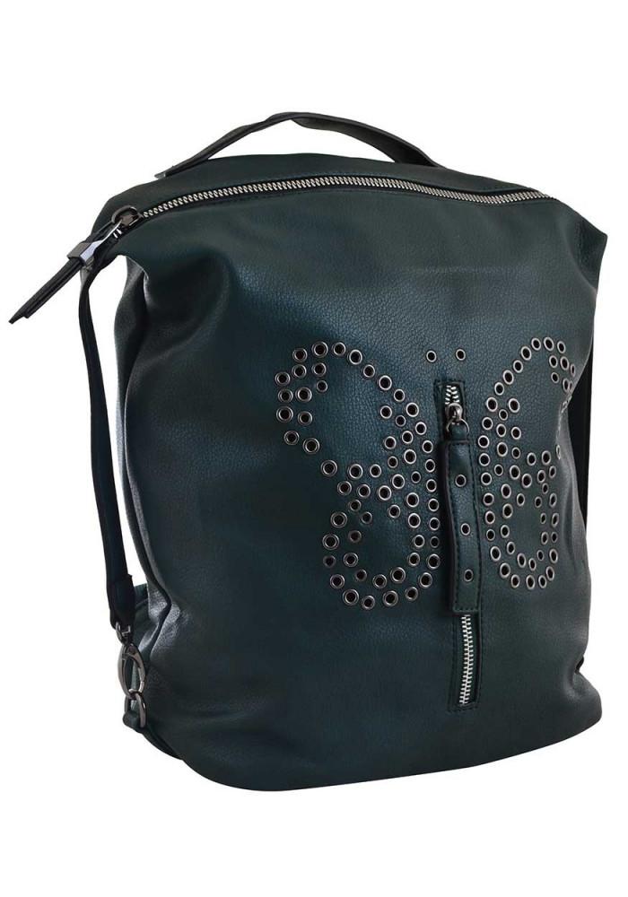 Зеленый молодежный рюкзак YES Weekend YW-17