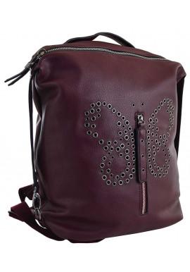 Фото Красный молодежный рюкзак YES Weekend YW-17