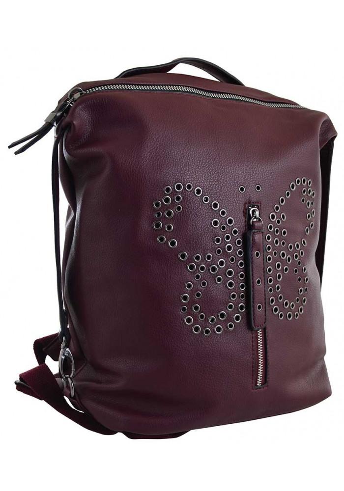 Красный молодежный рюкзак YES Weekend YW-17