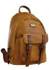Горчичный молодежный рюкзак YES Weekend YW-18