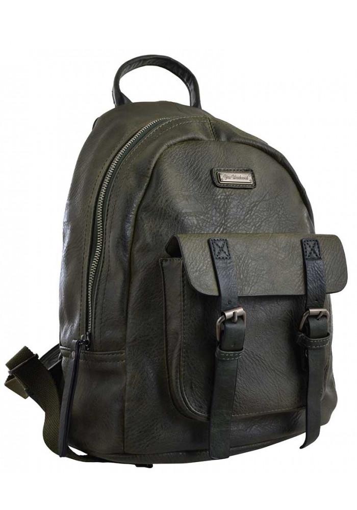 Зеленый молодежный рюкзак YES Weekend YW-18