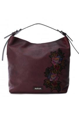 Фото Бордовая женская сумка из экокожи Refresh 83170