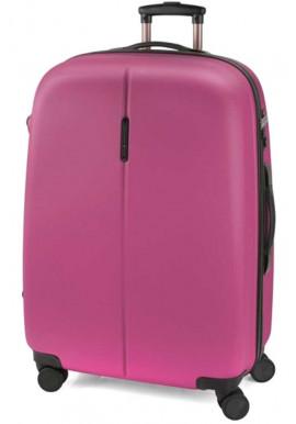 Фото Розовый чемодан для девушки Gabol Paradise L Fuchsia