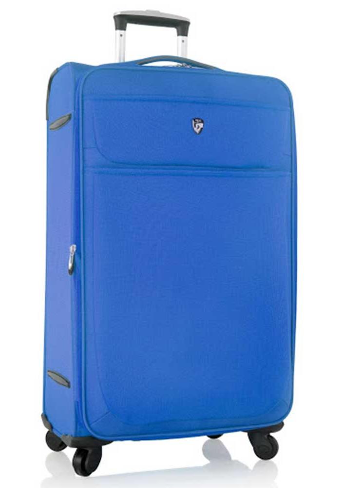 Синий чемодан на колесах Heys Argus L Electronic Blue