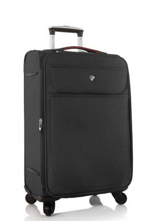 Средний чемодан на колесах Heys Argus M Black