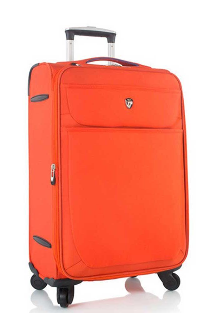 Яркий чемодан для путешествий Heys Argus M Orange