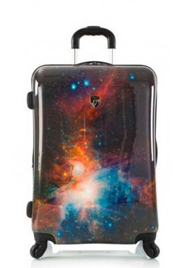 Красивый чемодан на колесах Heys Cosmic Outer Space M