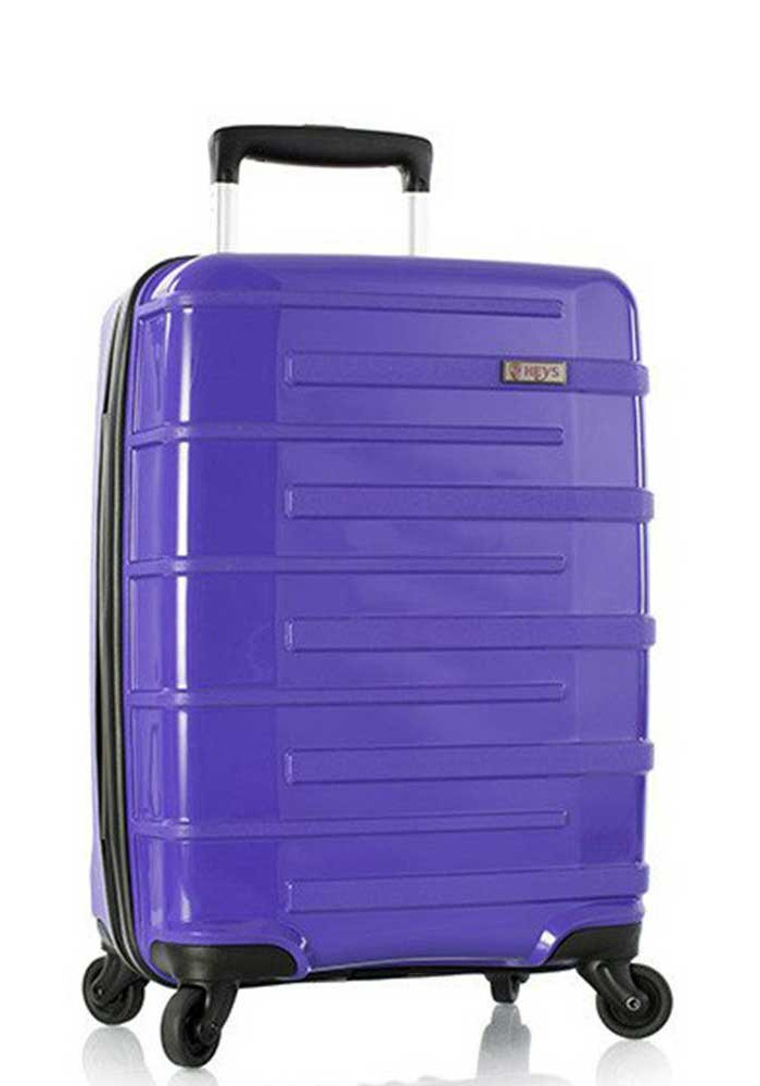 Фото Фиолетовый чемодан на колесиках Heys Helios S Purple