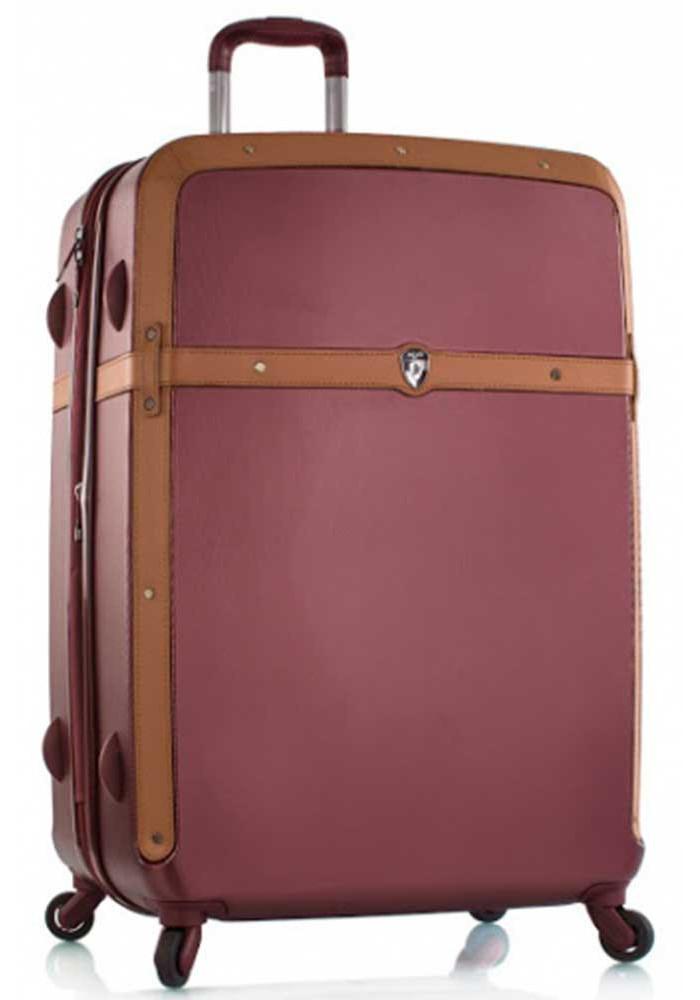 Стильный чемодан на колесах Heys Heritage L Burgundy