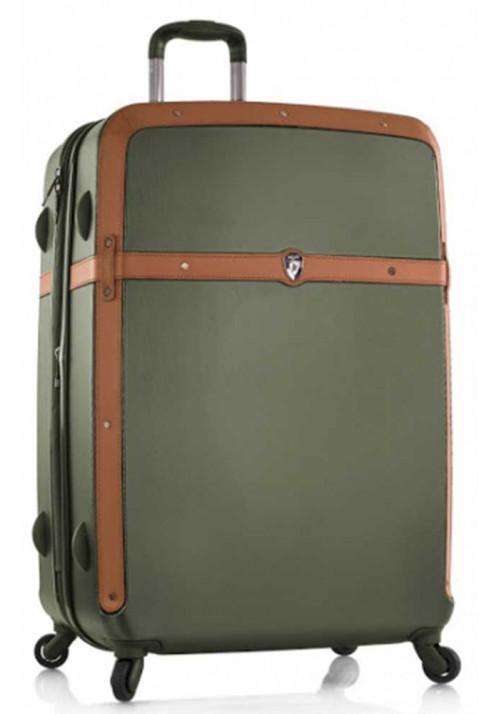 Эффектный чемодан на колесах Heys Heritage L Olive