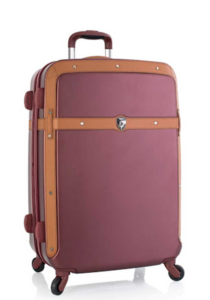 Бордовый чемодан на колесах Heys Heritage M Burgundy