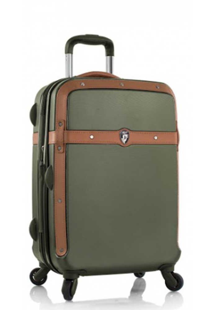 Маленький чемодан на колесах Heys Heritage S Olive