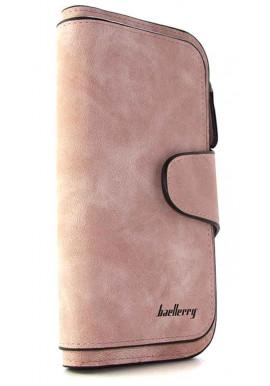 Фото Женский кошелек розовый Baellerry 843
