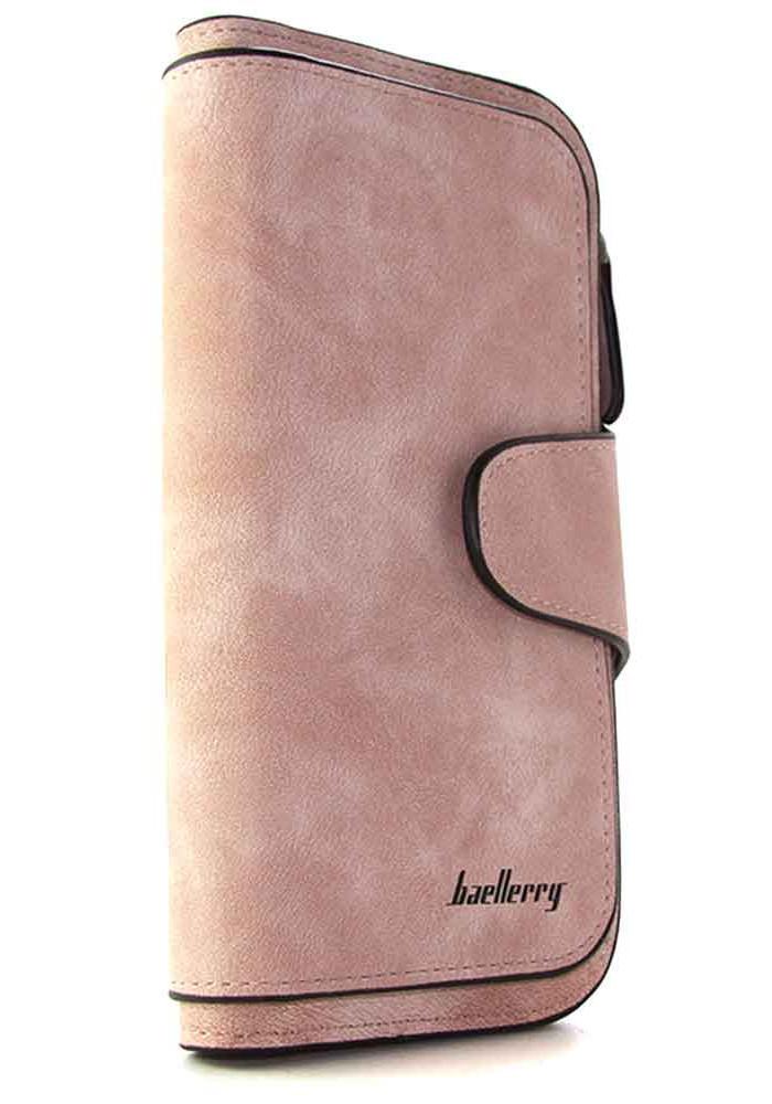 Женский кошелек розовый Baellerry 843