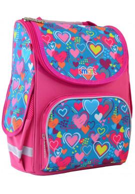 Фото Школьный рюкзак с сердечками SMART PG-11 Charms