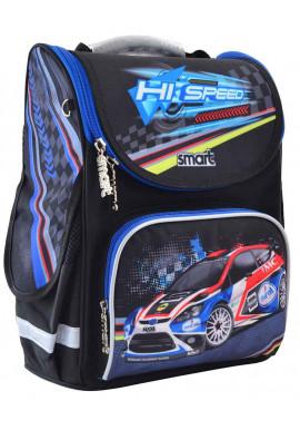 Фото Школьный рюкзак с машиной SMART PG-11 Hi Speed